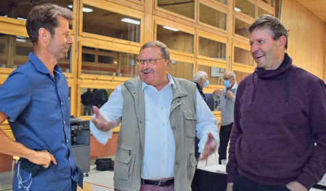 Biowinzer und Biobauer kreuzten die Klingen